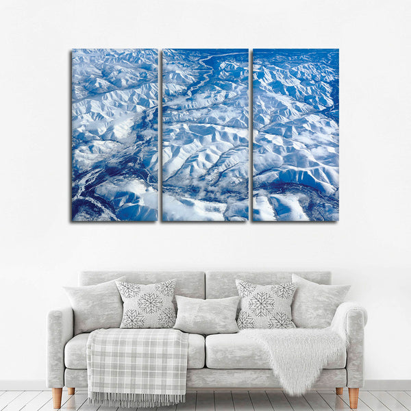 Siberian Magnificent Landscape Multi Panel Canvas Wall Art