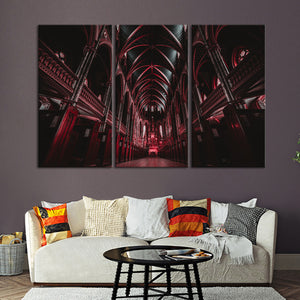 Gothic Architecture Multi Panel Canvas Wall Art - Gothic