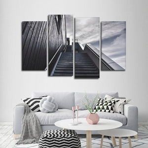Gorgeous Stairway Multi Panel Canvas Wall Art - Stairs