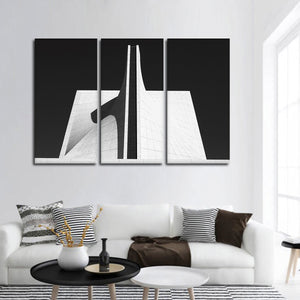 Symmetry Multi Panel Canvas Wall Art - Architecture