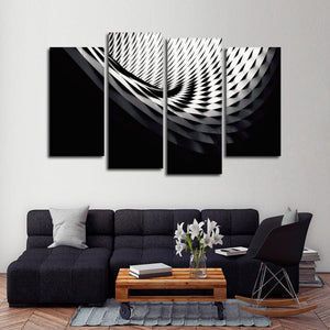 Different Perspective Multi Panel Canvas Wall Art - Architecture