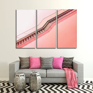 Unique Stairway Multi Panel Canvas Wall Art - Stairs