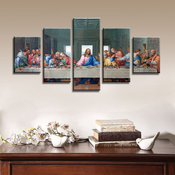 The Last Supper Multi Panel Canvas Wall Art & The Last Supper Multi Panel Canvas Wall Art | ElephantStock