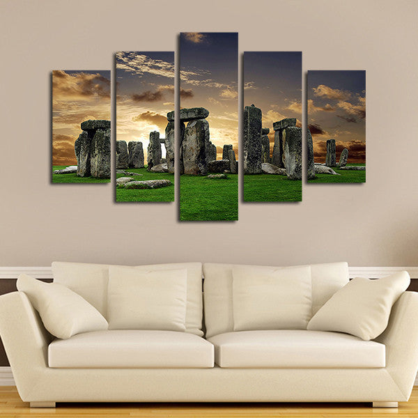 Stonehenge Multi Panel Canvas Wall Art