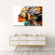 Profile Colors Multi Panel Canvas Wall Art