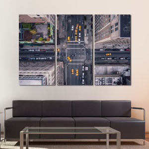 5th Avenue Multi Panel Canvas Wall Art - City