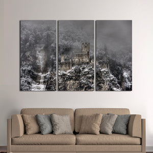 Castle Haderburg Multi Panel Canvas Wall Art - Castle