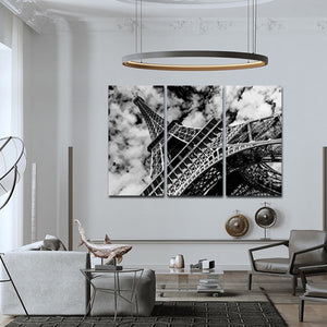 Eiffel Tower Multi Panel Canvas Wall Art - City