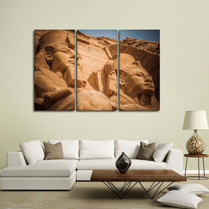 Pharaohs of Egypt Multi Panel Canvas Wall Art - Africa