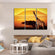 African Giraffe Multi Panel Canvas Wall Art