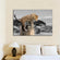 African Leopard Pop Multi Panel Canvas Wall Art