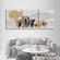 Animals Of Africa Multi Panel Canvas Wall Art