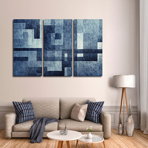 Creative Abstract Multi Panel Canvas Wall Art - Abstract