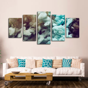 Life In Color Multi Panel Canvas Wall Art - Abstract