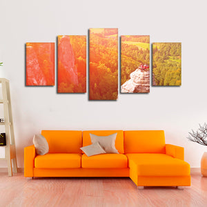 Adventure Enthusiasts Multi Panel Canvas Wall Art - Extreme