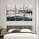 Beautiful Seagulls Flying Multi Panel Canvas Wall Art