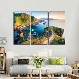 Basque Country Multi Panel Canvas Wall Art - Nature