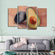 Avocado Multi Panel Canvas Wall Art
