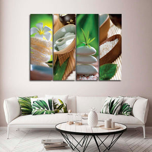 Relaxing Spa Canvas Set Wall Art - Spa