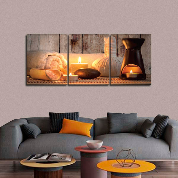 Aromatherapy Multi Panel Canvas Wall Art
