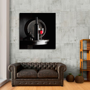 Raise A Toast Canvas Wall Art - Winery