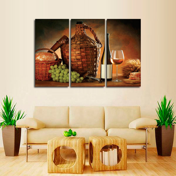 A Glorious Meal Multi Panel Canvas Wall Art