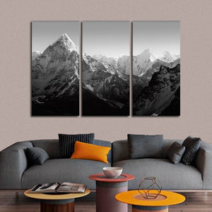 Himalaya Mountains Multi Panel Canvas Wall Art - Nature