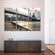 Brooklyn Bridge From Below Multi Panel Canvas Wall Art