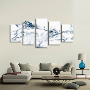 Marble Art Multi Panel Canvas Wall Art - Abstract