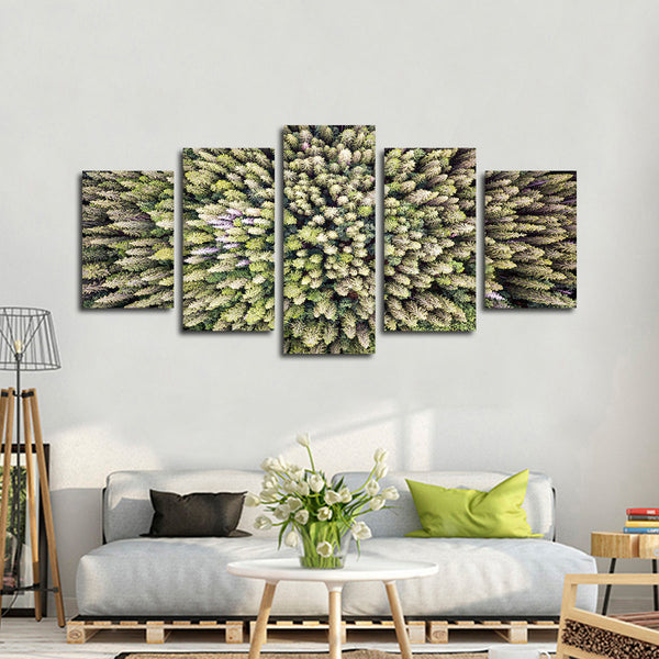 Evergreen Pine Trees Multi Panel Canvas Wall Art | ElephantStock