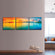 Panorama Sunset Multi Panel Canvas Wall Art