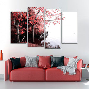 Calming Landscape Multi Panel Canvas Wall Art - Nature