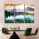 Beautiful Natural Scenery Multi Panel Canvas Wall Art
