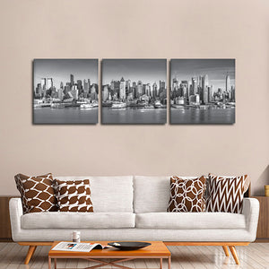 New York City Multi Panel Canvas Wall Art - City