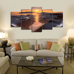 Beyond The Sun Multi Panel Canvas Wall Art - Nature