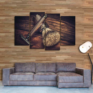 Epic Shave Multi Panel Canvas Wall Art - Hair