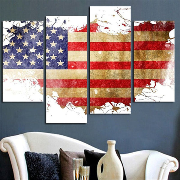 United States Wall Art united states of america multi panel canvas wall art – elephantstock