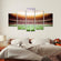 50 Yard Multi Panel Canvas Wall Art