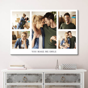 Collage Canvas Photo Prints - Custom