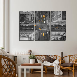 5th Avenue Pop Multi Panel Canvas Wall Art - City