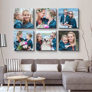 Wall Display Canvas Photo Prints - Custom