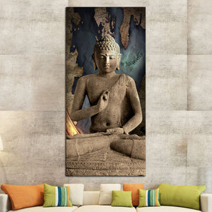Celestial Buddha Canvas Wall Art - Buddhism