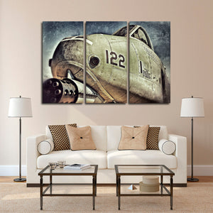 A10 Warthog Multi Panel Canvas Wall Art - Airplane
