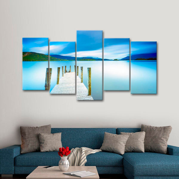 A Walk To The Tropics Multi Panel Canvas Wall Art