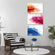 Abstract Colors Multi Panel Canvas Wall Art