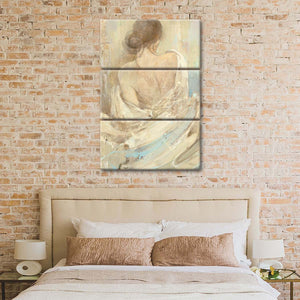 Abstract Figure Study I Multi Panel Canvas Wall Art - Abstract