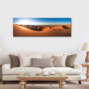 Abu Dhabi Desert Multi Panel Canvas Wall Art - Nature