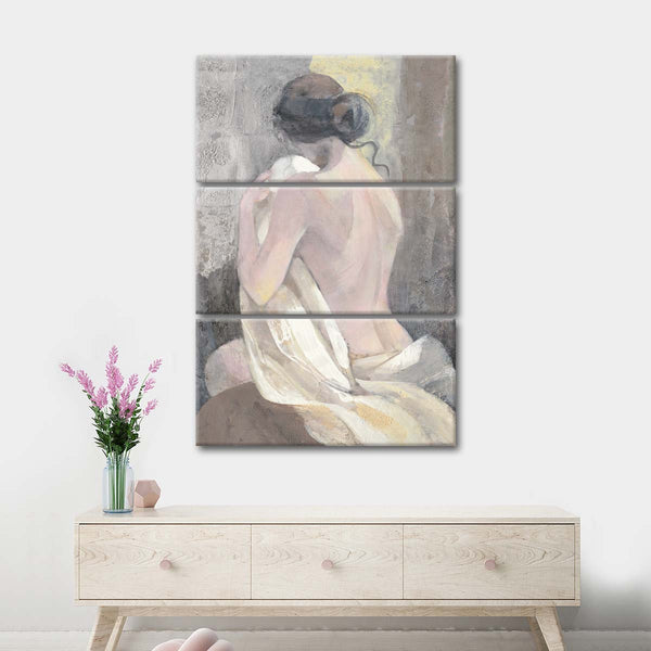 After the Bath II Multi Panel Canvas Wall Art