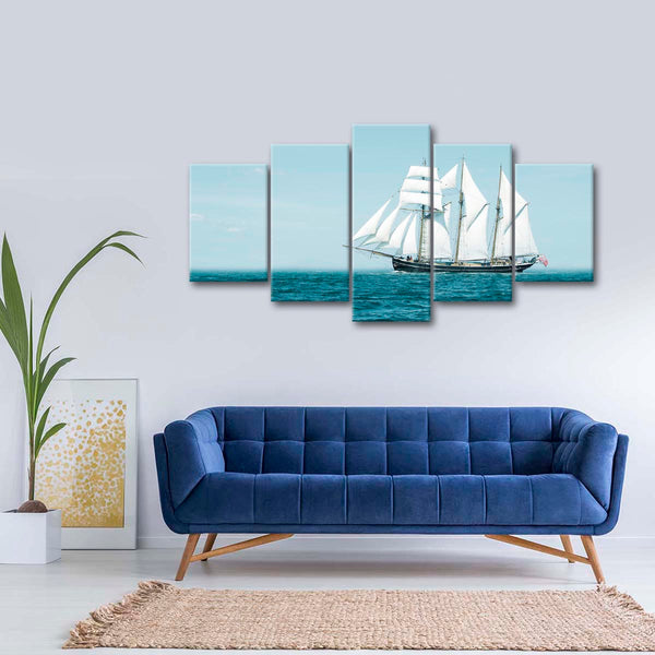 Afternoon Sail Multi Panel Canvas Wall Art