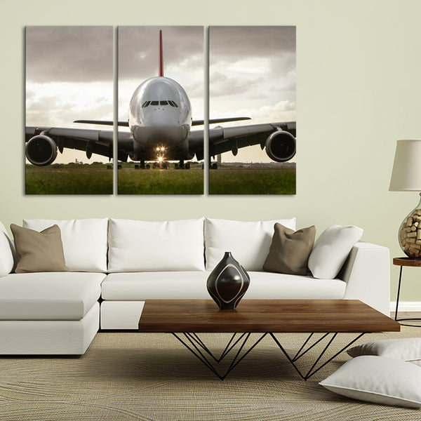 Airbus A380 Multi Panel Canvas Wall Art